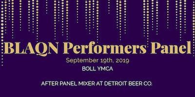 BLAQN Performers Panel