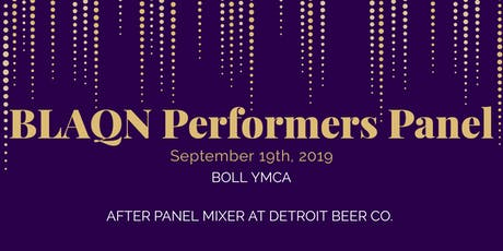 BLAQN Performers Panel tickets