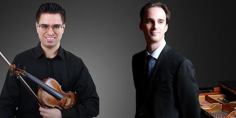 Domagoj Ivanovic, Violin & Noel McRobbie, Piano tickets