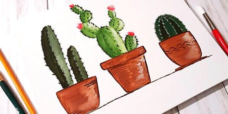 Cactus Paint + Sip tickets