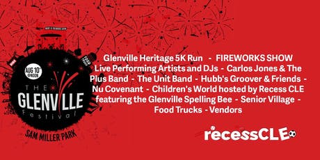 Glenville Festival with Recess Cleveland tickets