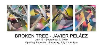 Javier Peláez: Broken Tree // Casper Brindle: Untitled Works on Paper