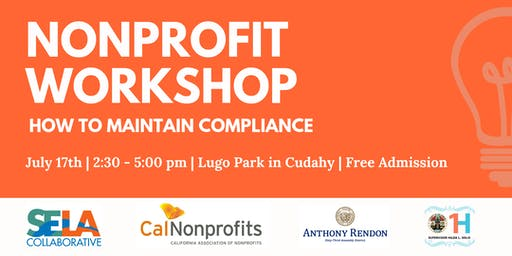 Nonprofit Workshop: How to Maintain Compliance