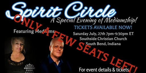 Spirit Circle Event A Special Evening of Mediumship (Times Two!)