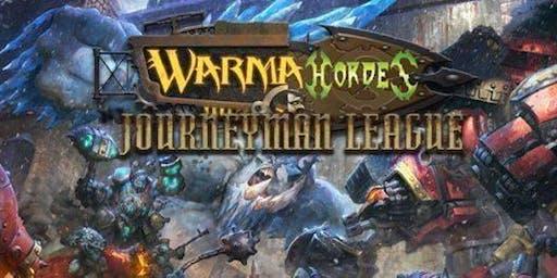 WarmaHordes Journeyman League Start