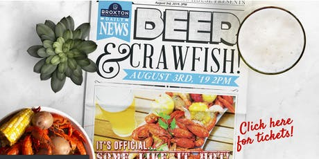 1st Annual Broxton Crawfish Boil  tickets