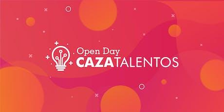 Open Day Caza Talentos entradas