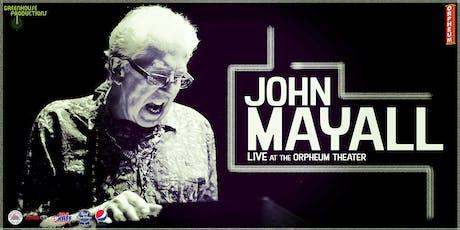 John Mayall tickets