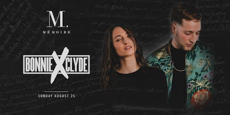 Bonnie x Clyde at Mémoire tickets