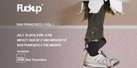 FuckUp Nights - San Francisco tickets