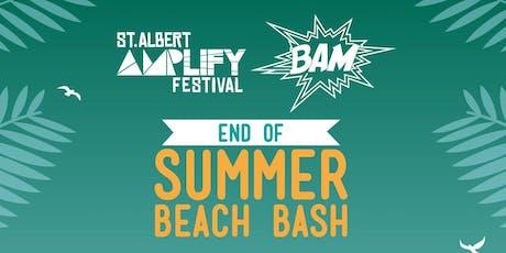 End of Summer Beach Bash tickets