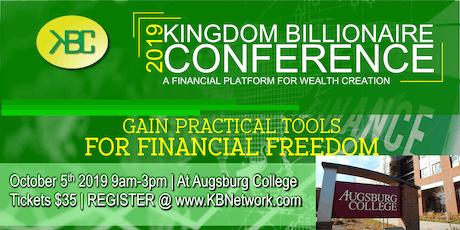 Kingdom Billionaire Conference (Faith and Financial Literacy)  tickets