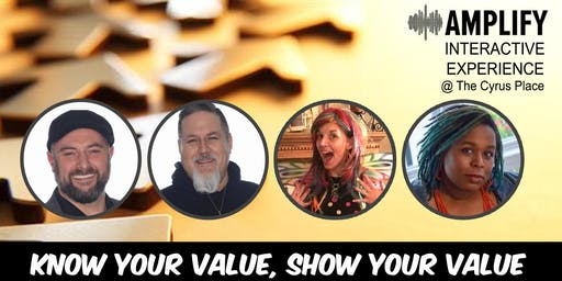 Amplify Indy Interactive Experience - Know Your Value, Show Your Value!