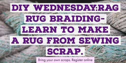DIY Wednesdays: Rag Rug Braiding