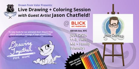 Draw 4 Hope: Drawn from Valor, Blick Art Materials & Jason Chatfield tickets