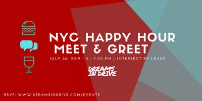 Dreams In Drive NYC Happy Hour Meet Up