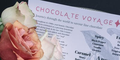 Craft Chocolate Tasting & Talk with Master Taster Tracy Arden Chapman