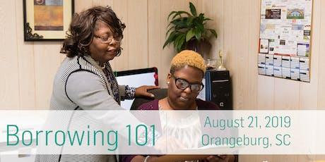 Borrowing 101: Orangeburg tickets