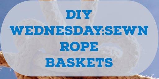 DIY Wednesdays: Rope Coil Basket