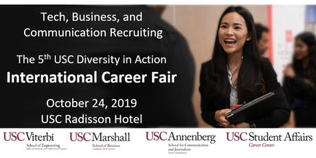 The 5th USC Diversity in Action International Career Fair tickets