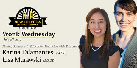 Wonk Wednesday: Finding Solutions in Education Financing tickets