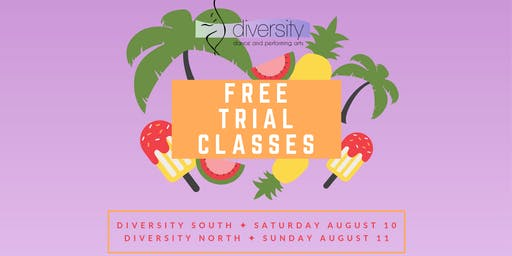 [SOUTH] Free Trial Classes!