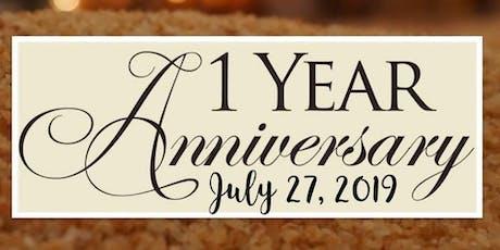 1st Anniversary Celebration tickets