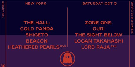 Ghostly 20 (Early) w/ Gold Panda, Shigeto, Beacon, Heathered Pearls (DJ),  Ouri, The Sight Below, Logan Takahashi, Lord RAJA (DJ), Starchild & The New Romantic (DJ) @ Elsewhere tickets
