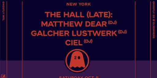 Ghostly 20 (Late), Matthew Dear (DJ), Galcher Lustwerk (DJ), Ciel (DJ), Michna (DJ), Xeno & Oaklander (DJ) @ Elsewhere (Hall)