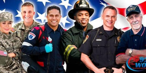 First Responders Appreciation at IFLY Fort Worth
