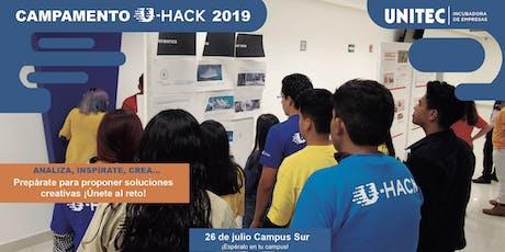 Campamento U-Hack 2019 Sur entradas