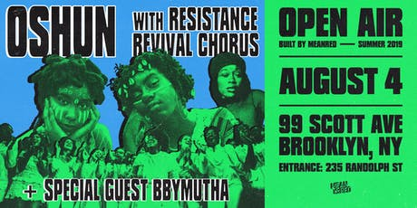 Oshun & Resistance Revival Chorus tickets