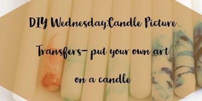 DIY Wednesdays: Candle Transfers