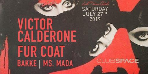 Victor Calderone + Fur Coat