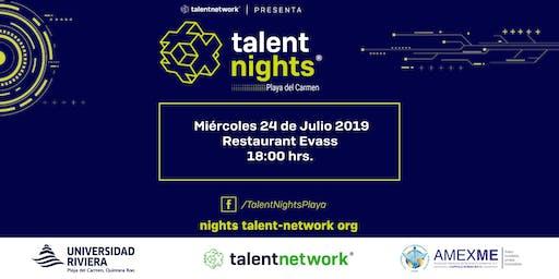 Talent Night Playa del Carmen Julio 2019