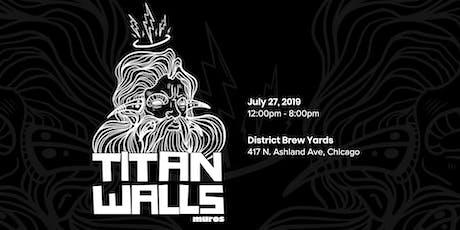 1st Annual Titan Walls Mural Festival  tickets