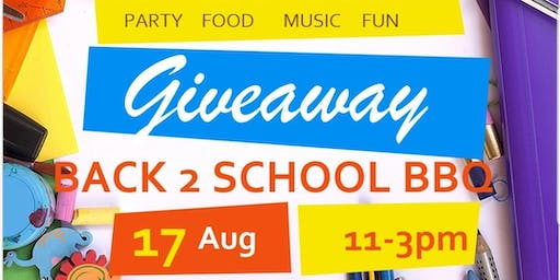 Formula4 Present's  A Back to School BBQ