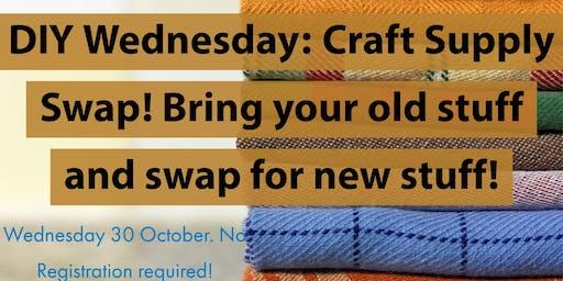 DIY Wednesdays: Craft Supply Swap!