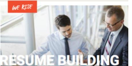 Resume Building Workshop tickets