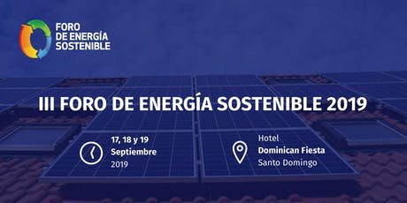 Foro de Energía Sostenible 2019 tickets
