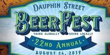 Dauphin Street BeerFest 2019 Starting at Pat's Downtown