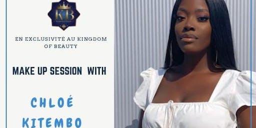 Nocturne Session Make Up Chloé Kitembo X Kingdom Of Beauty
