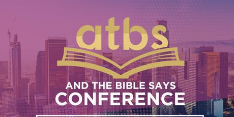 And The Bible Says Preaching Conference tickets