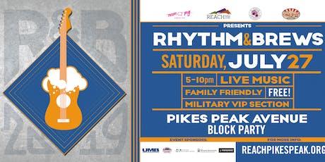 Rhythm & Brews Block Party tickets