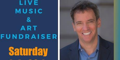 Meet Andrew Romanoff, Art auction, Live Music tickets