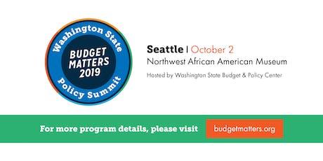 Budget Matters 2019 tickets