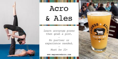 Acro & Ales: Friends & Allies Brewing tickets
