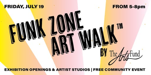 July 19th Funk Zone Art Walk™