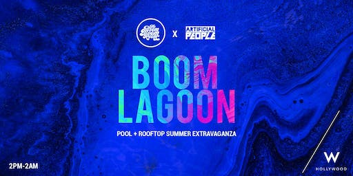 The Boom Lagoon: A Day x Night affair [2pm-2am]