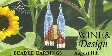 Wine&Design: Beaded Earrings tickets